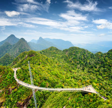Langkawi Sky Bridge in Malaysia  photo