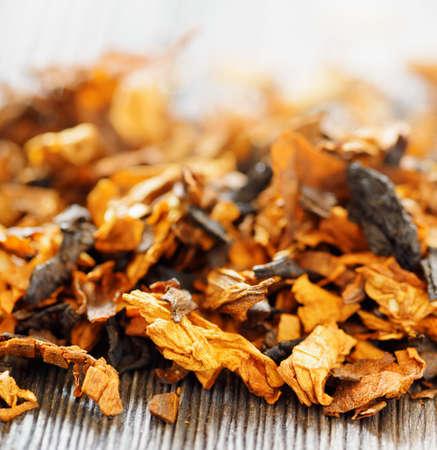 tobacco: Pipe tobacco  Shallow depth of field   Stock Photo