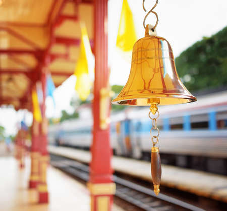 hua hin: The bell is at the station Hua Hin in Thailand. It is a popular tourist attraction of Thailand.