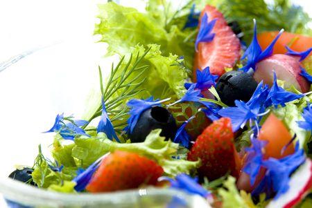 strawberry salad Stock Photo - 3235667