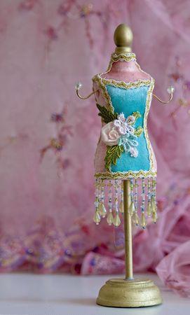 manequin: small manequin at tailor studio