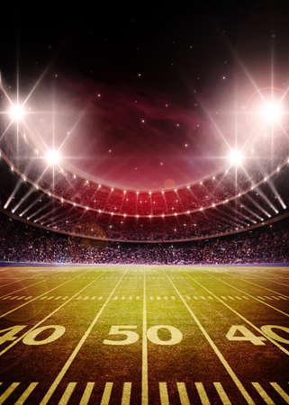 football goal post: American football stadium