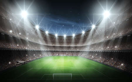 Estadio Foto de archivo - 32457952