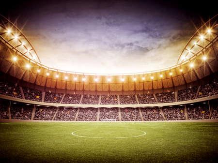 footballs: stadium