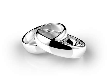 platinum wedding ring photo