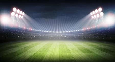 Stadium Standard-Bild