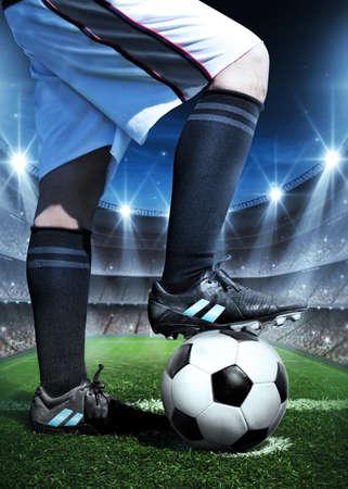 terrain foot: concept de Football Banque d'images