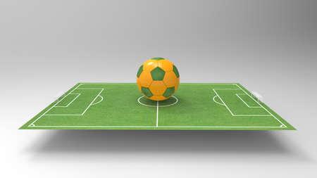 soccer: Soccer brasil Stock Photo