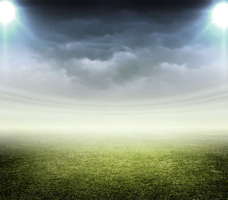 スタジアムのライト