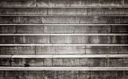 stone steps: Old damaged stone staircase Stock Photo