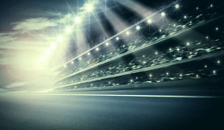 car race track: Track arena