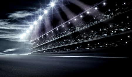 sports track: Track arena