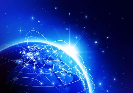 World News Blue  photo