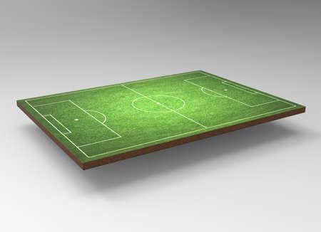 terrain foot: Arrière-plan de football Banque d'images