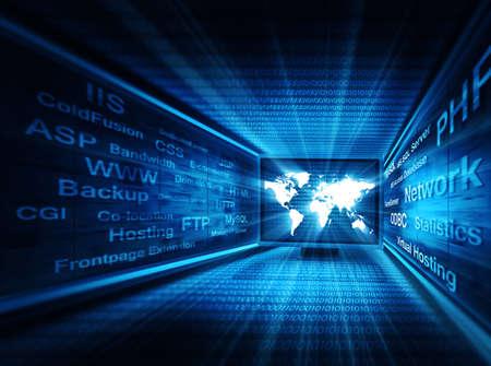network concept Stockfoto