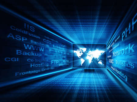 network concept Standard-Bild