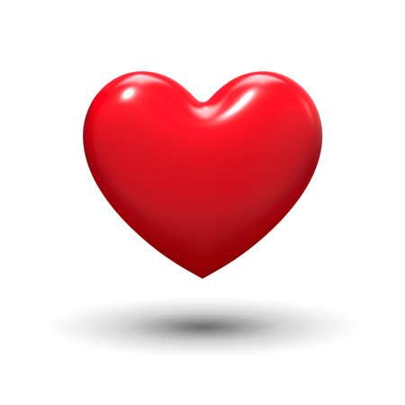 심장 모양의 사랑