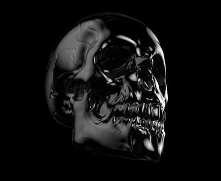 death metal: human skull