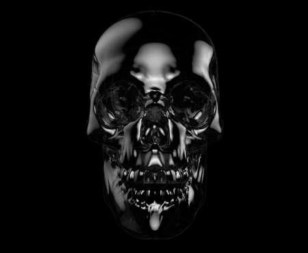 인간의 두개골 스톡 콘텐츠