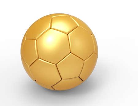 kickoff: Soccer Ball Stock Photo