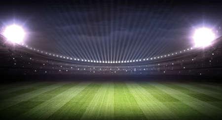 pelota rugby: estadio Foto de archivo