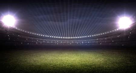 sports field: stadium