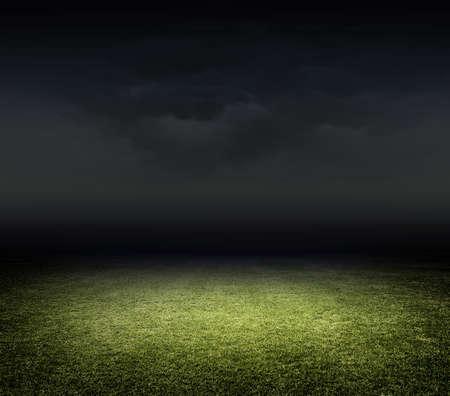terrain foot: Stade herbe