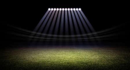 Stadium grass Banco de Imagens