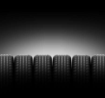 tire tracks: vehicle tires