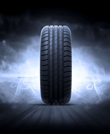 road: vehicle tire