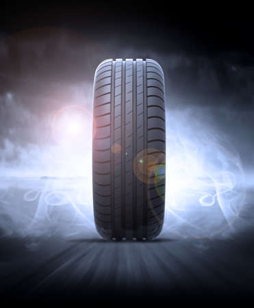 fast car: vehicle tire