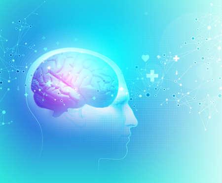 The Human Body - Brain Stock Photo