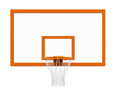 Basketbalring geïsoleerde