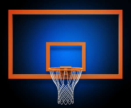 canestro basket: Basket hoop Archivio Fotografico