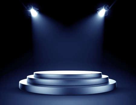 Spotlight stage