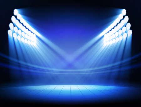 stage: Spotlights