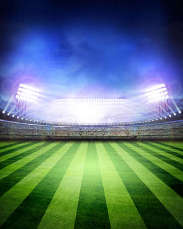 stadium soccer: Stadium Stock Photo
