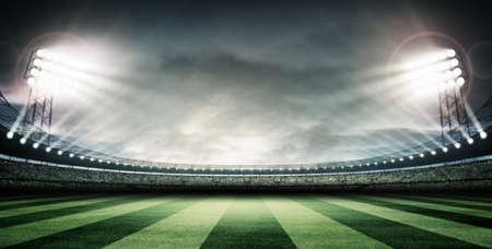 Rugby ball: Arena Estadio Foto de archivo