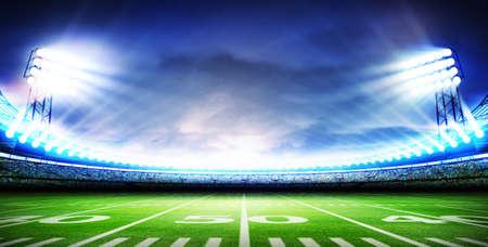 Amerikaanse stadion Stockfoto