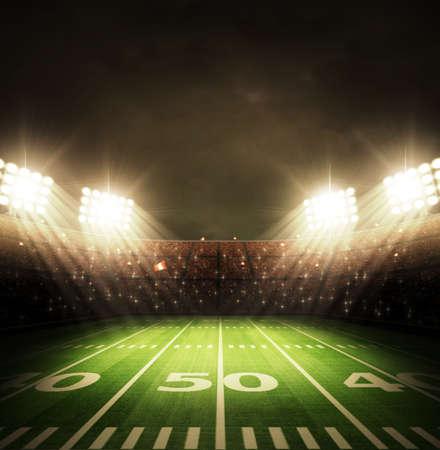 feld: amerikanischer Stadion