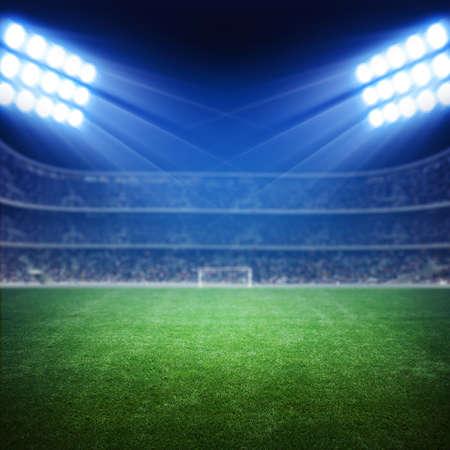 cancha de futbol: Luz del Estadio