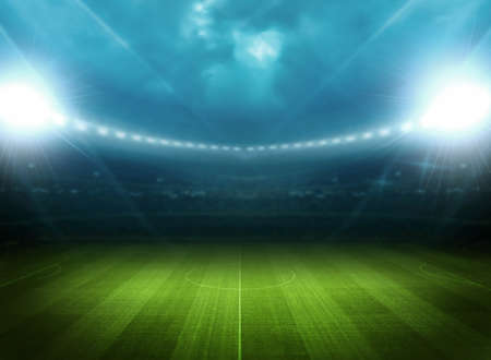 football stadium: Stadium light Stock Photo