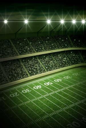 american football: stadium
