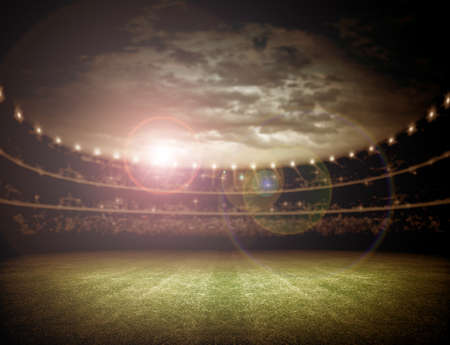 light: Stadium Stock Photo