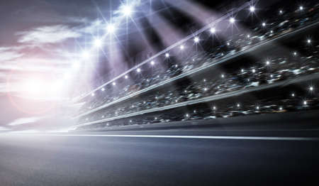 racetrack: Track arena