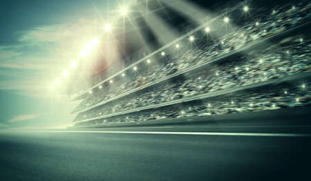 racing track: Track arena