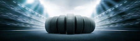 vehicle tires Stock Photo - 35816683