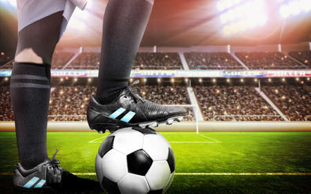 football players: Concepto del f�tbol