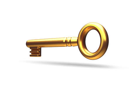 key to success: Gold key