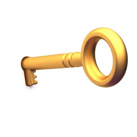 gold key: Gold key